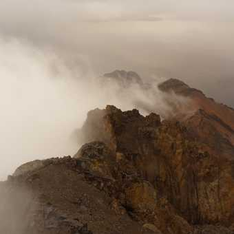 Adverse weather on Toubkal summit