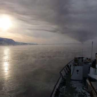 Approaching Kirkenes