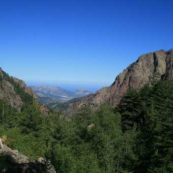 View from Refuge de Carrozzu