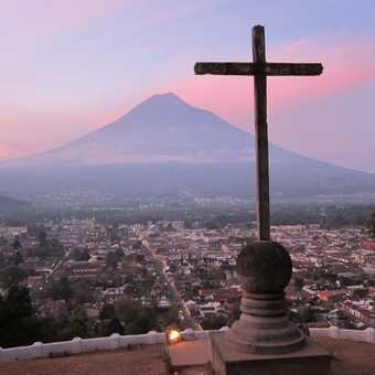 Sunrise over La Antigua, Guatemala