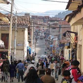 Bustling Cuzco