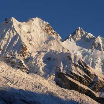 Kanchenjunga from the viewpoint 4,650m