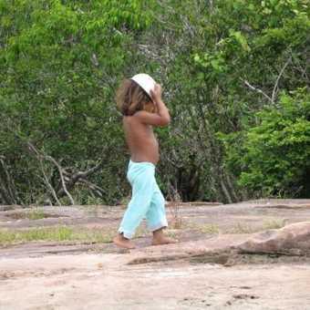 Local child at Canaima National Park, Venezuela