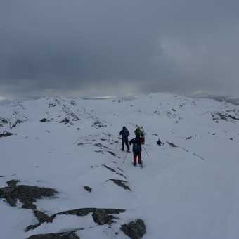 Snowshoeing at Svinslaberge 2