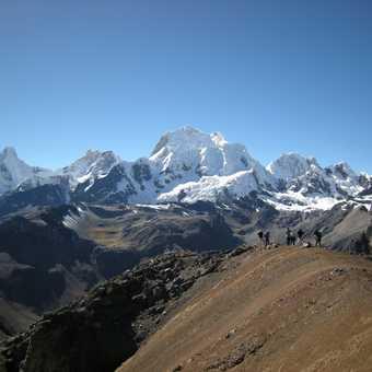 Somewhere above the Yaucha Pass