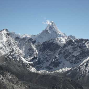 Everest & Nuptse from Kala Pattar