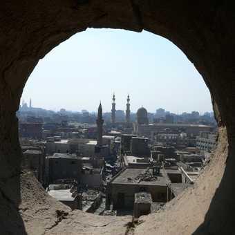 Cairo through a window