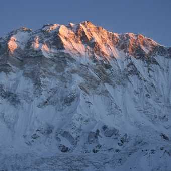 Sunrise on Annapurna South