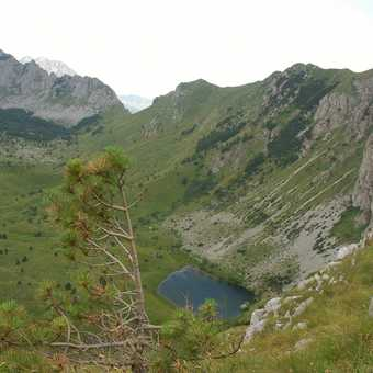 Lake view; Sutjeska National Park
