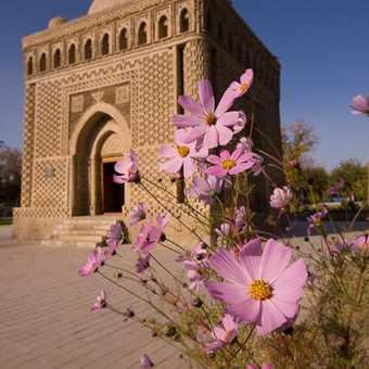 The Samanid Mausoleum in Bukhara