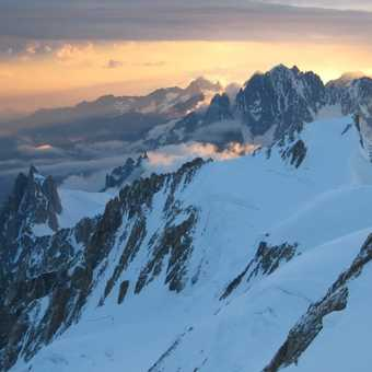 High on Mt Blanc 3rd July 2009