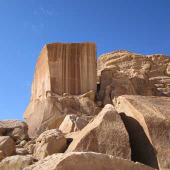 Amazing Rock - Wadi Rum