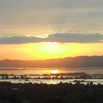 Extraordinary sunset from Mandalay Hill