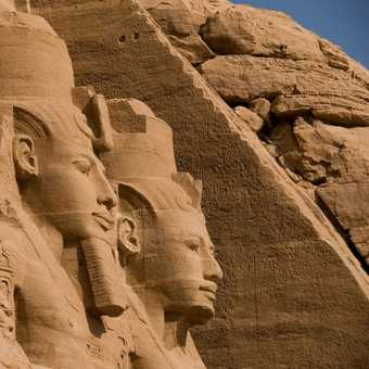 Abu Simbel, early morning