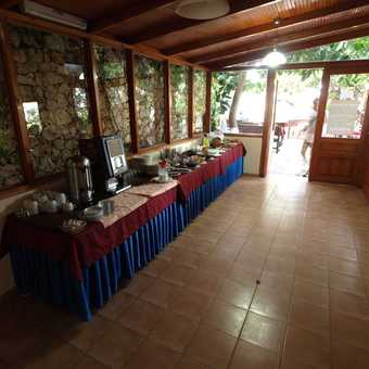 Breakfast buffet at Hotel Oreo