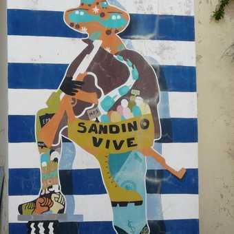 Sandinista mural