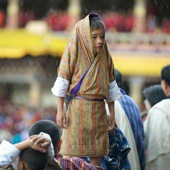 Rain stops play Thimpu Festival