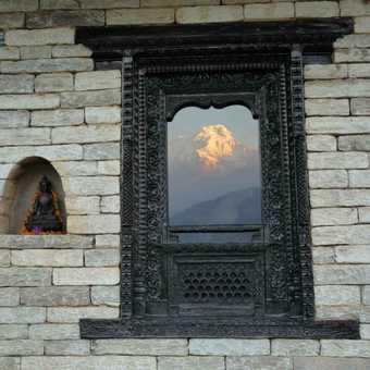 Reflection of Annapurna
