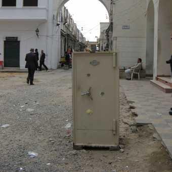 Tripoli, unusual street encounter - but a safe one!
