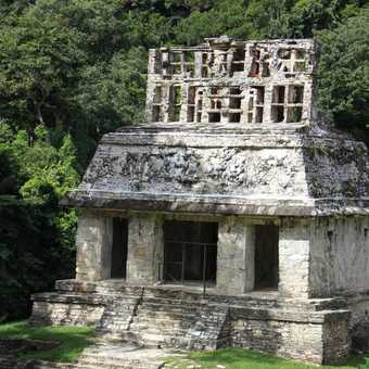 Palenque outer temple
