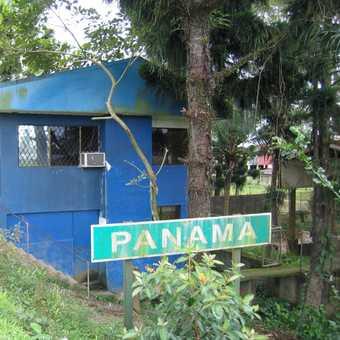 Border Costa Rica to Panama