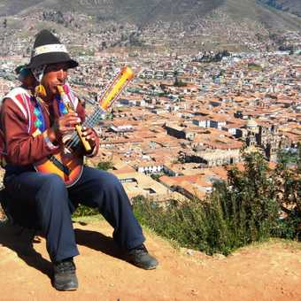 High above Cusco, this man reckoned he'd rather be a sparrow than a snail. If he could . . .