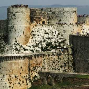 Panorama of Krak des Chevaliers