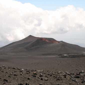 Barren Etna landscape