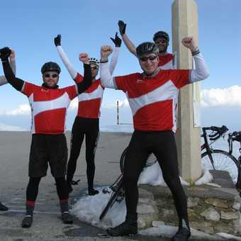 Mt Ventoux Finish Line