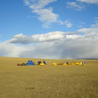 ONE OF OUR CAMPSITES