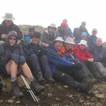 On top of Kristinartindar (1126 metres) - Skaftafell National Park