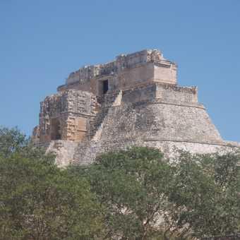 Mayan site, Uxmal