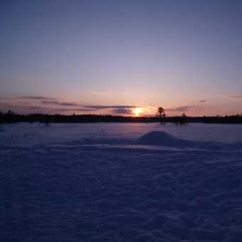 Sunset over Quinzee
