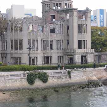 The iconic A Dome at Hiroshima