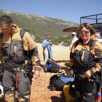 Paragliding - Tony and Zoe