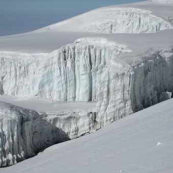 Glacier on top of Kili