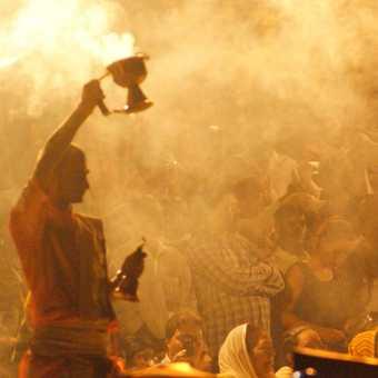 Evening Prayers - Varanassi