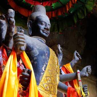Statue of Vishnu - Angkor Wat, Cambodia