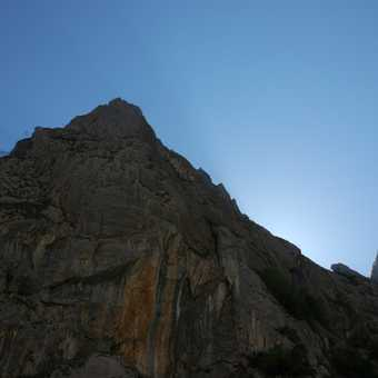 Bulnes gorge