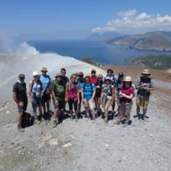 In the fumerole cloud