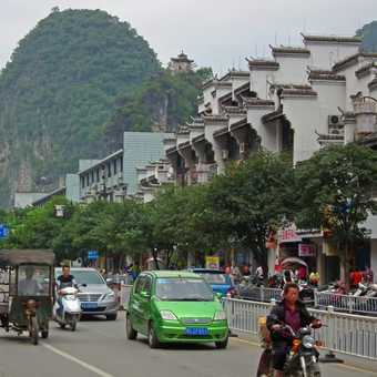 Yangshuo high street