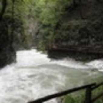 Vintnar Gorge waterfall