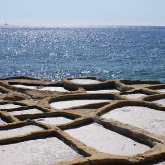 Salt pans at Mellieha Point