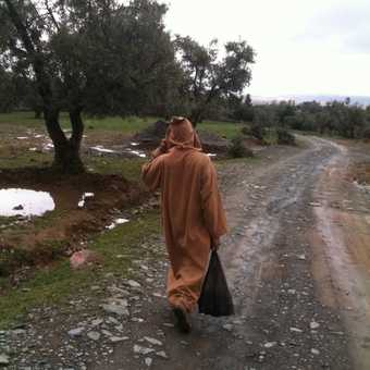 Heading home, Berber countryside