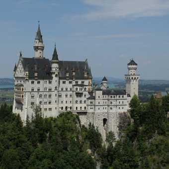 Famous View of Schloss Neuschwanstein...