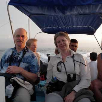 Boat ride to Corcovado