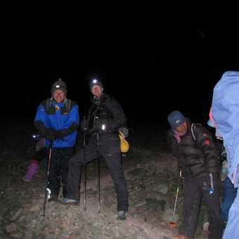 0300, steep ground above the glacier