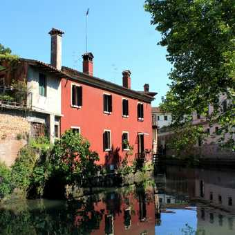 The beautiful town of Portogruaro