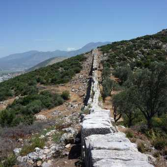 Aquaduct, en route to Patara