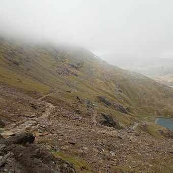 Pyg track on Snowdon